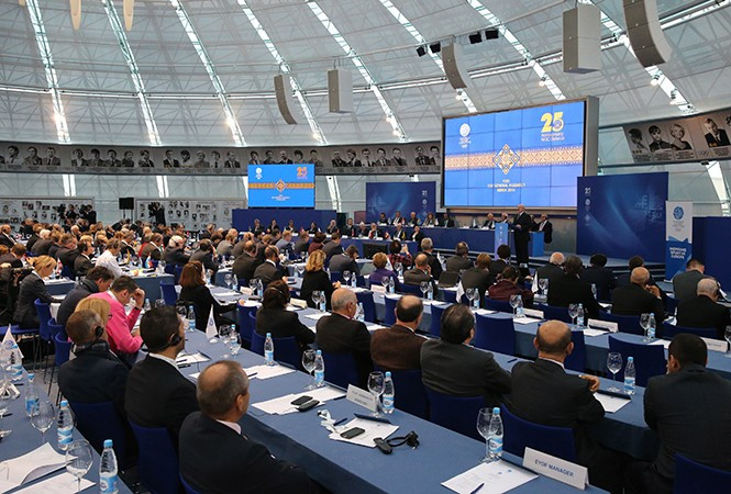 Several countries opposed the idea of Minsk hosting the 2019 European Games, including Denmark and Norway, who voted against them being awarded the event ©President of Belarus
