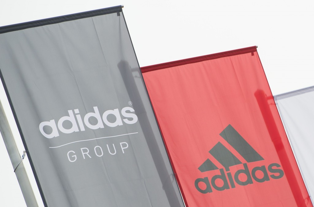 Sports goods manufacturer Adidas managed to utilise the Games emblem in its product categories in a large number of countries ©Getty Images