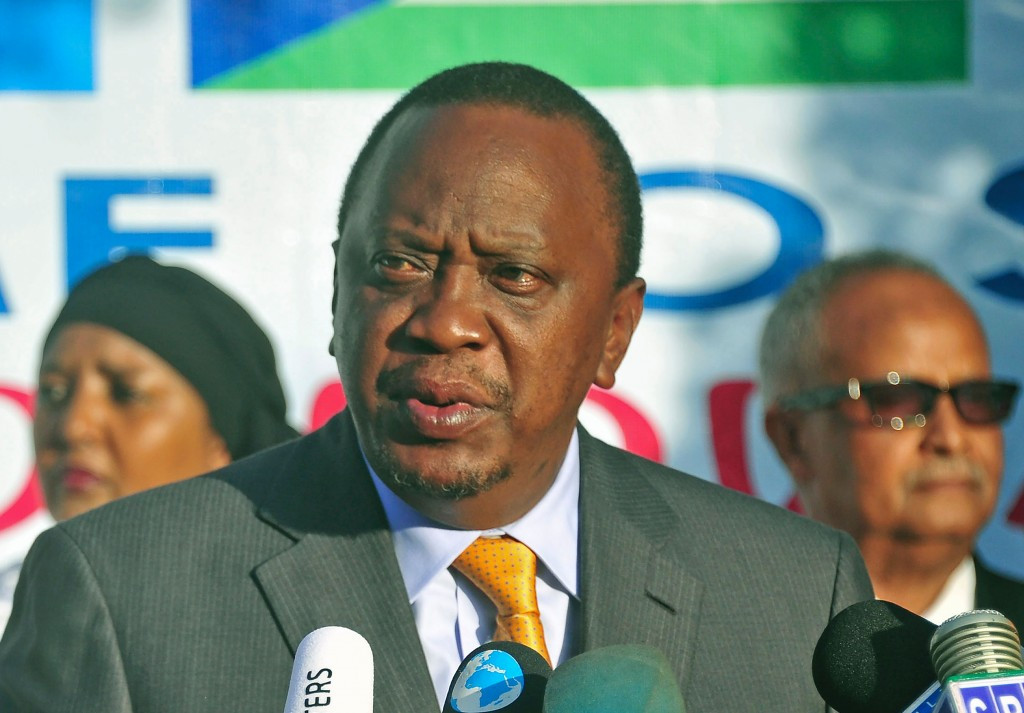 Uhuru Kenyatta has warned that Kenya will learn from the mistakes they made at Rio 2016 ©Getty Images