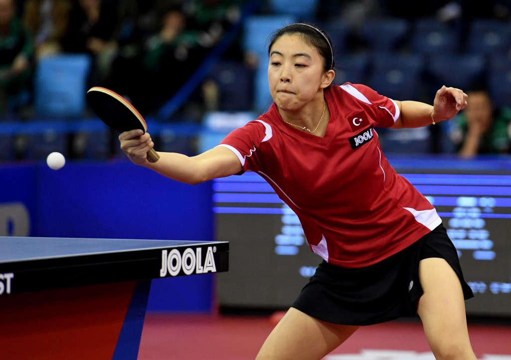 Melek and Lebesson win singles titles at European Table Tennis Championships
