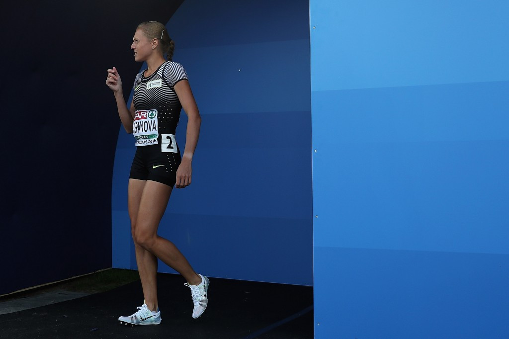 Yuliya Stepanova was permitted to compete at July's European Championships in Amsterdam before the IOC barred her from racing at Rio 2016 ©Getty Images