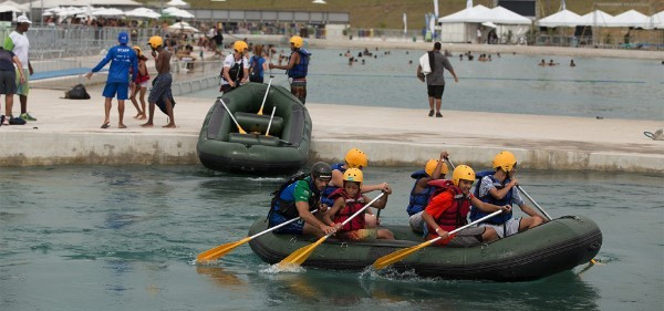 The canoe slalom venue for the Rio 2016 Olympics has played host to the sport's annual Pan American and South American Championships ©ICF