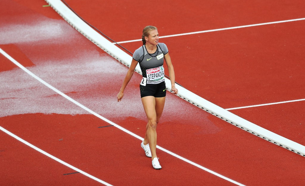 Figures in Russia have criticised the IOC decision to meet with Yuliya Stepanova ©Getty Images