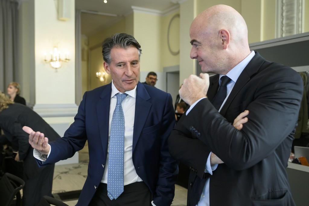 Sir Hugh Robertson and Richard Leman are bidding to replace IAAF President Sebastian Coe as BOA chairman ©Getty Images