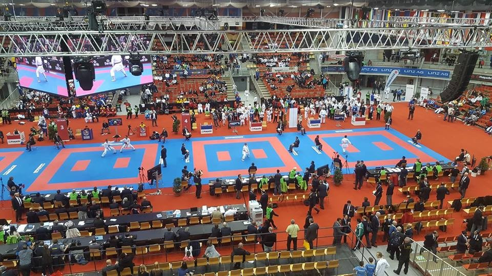 Karate World Championships: Day one of competition