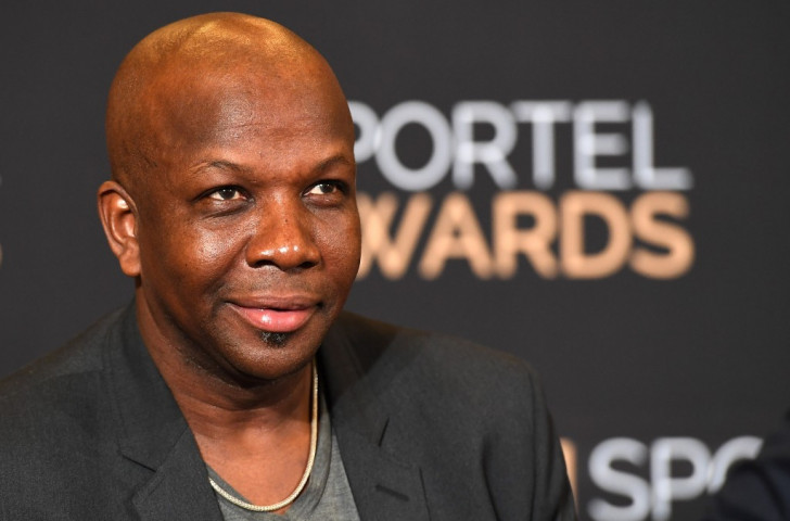 The mischief's always there - Canada's 1996 Olympic 100m champion Donovan Bailey pictured at this week's SPORTELMonaco event in Monte Carlo, where, as usual, he had plenty to say ©Getty Images