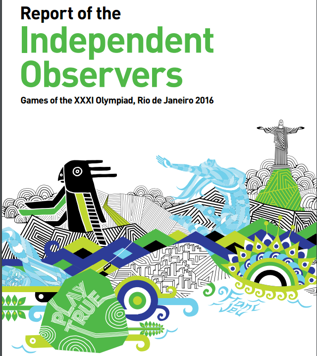 Logistics at Rio 2016 have been criticised in the WADA Independent Observers Report ©WADA