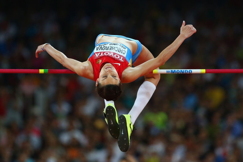 Russian high jumper Anna Chicherova has filed an appeal with the Court of Arbitration for Sport against the decision to strip her of the bronze medal she won at the Beijing 2008 Olympic Games ©Getty Images