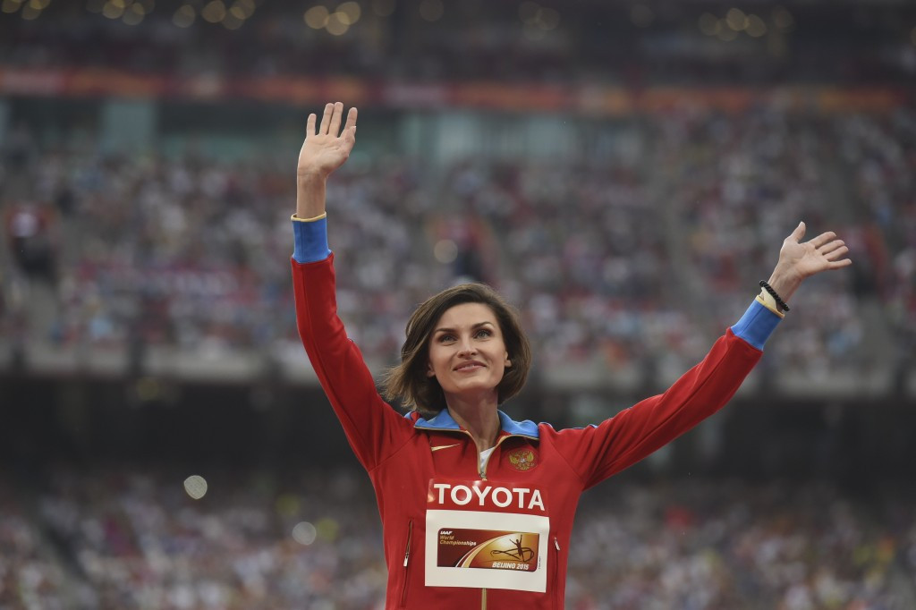 The IOC announced earlier this month that Russia's Anna Chicherova would be stripped of her Olympic bronze medal from Beijing 2008 after her doping samples were re-tested and came back positive ©Getty Images