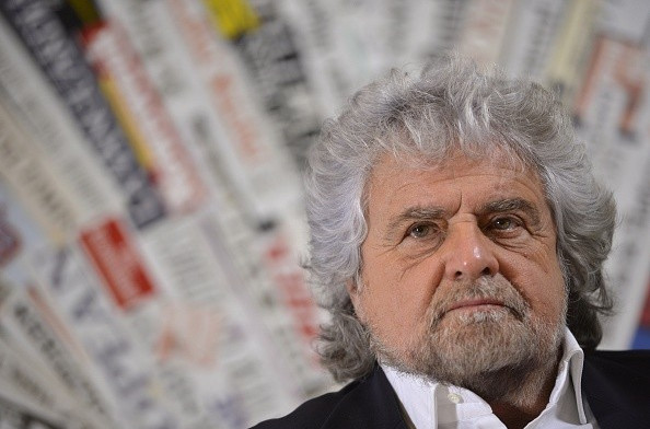 Activist and politician Beppe Grillo has lambasted Rome's 2024 Olympics and Paralympics bid ©Getty Images
