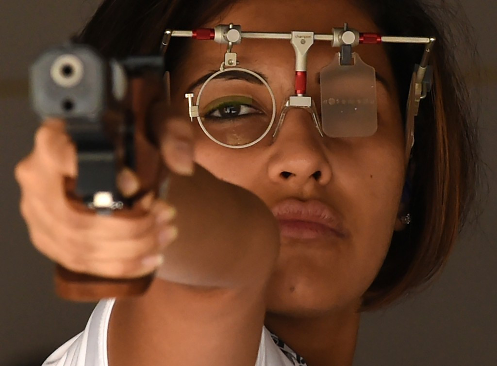 India's Heena Sidhu has withdrawn from the Asian Airgun Championship in Tehran because she refuses to wear a hijab ©Getty Images
