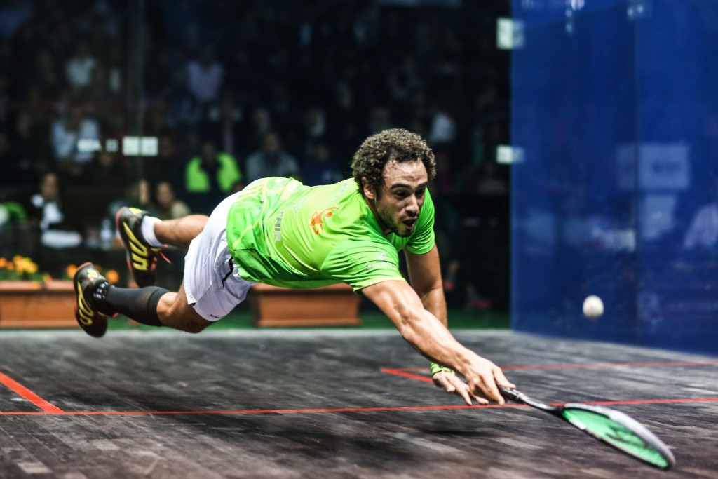 Egypt's Ramy Ashour went on to become world number one after winning the FISU World Championship Squash title ©Getty Images