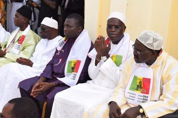 The event in Dakar was organised by family and friends of Lamine Diack ©Facebook