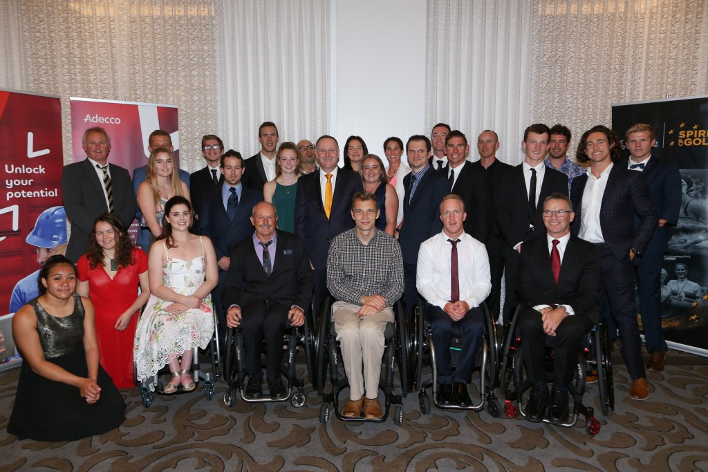 New Zealand's Paralympians attend celebration event with Prime Minister
