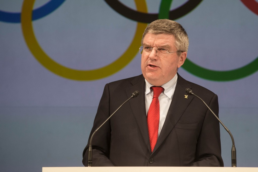 IOC President Thomas Bach believes the project will add to Olympic legacies of Rio 2016
