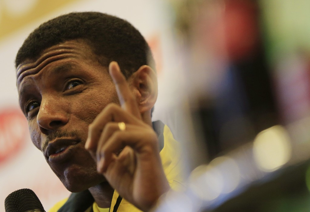 Haile Gebrselassie is taking stock of his new role as Ethiopian Athletics Federation President ©Getty Images