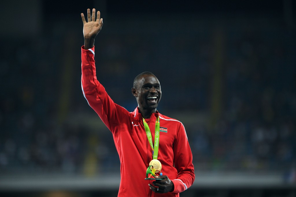 David Rudisha has been appointed as the President of the African Athletics Confederation Athletes' Commission ©Getty Images