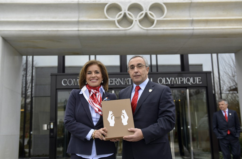 The submission of candidature files to the IOC in Lausanne has normally been a major promotional opportunity, with a media presence, in previous Olympic bids ©Getty Images