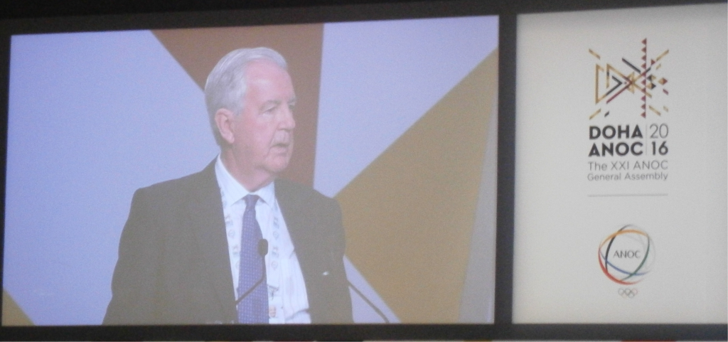 Sir Craig Reedie was fiercely criticised during the ANOC General Assembly meeting ©ITG