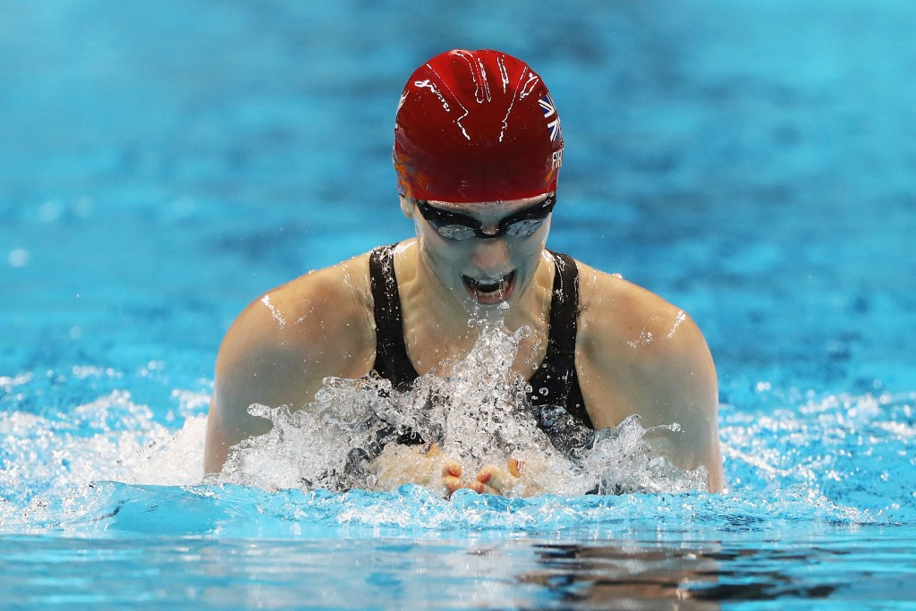 Bethany Firth is among the Rio 2016 gold medallists selected for the podium scheme ©Getty Images