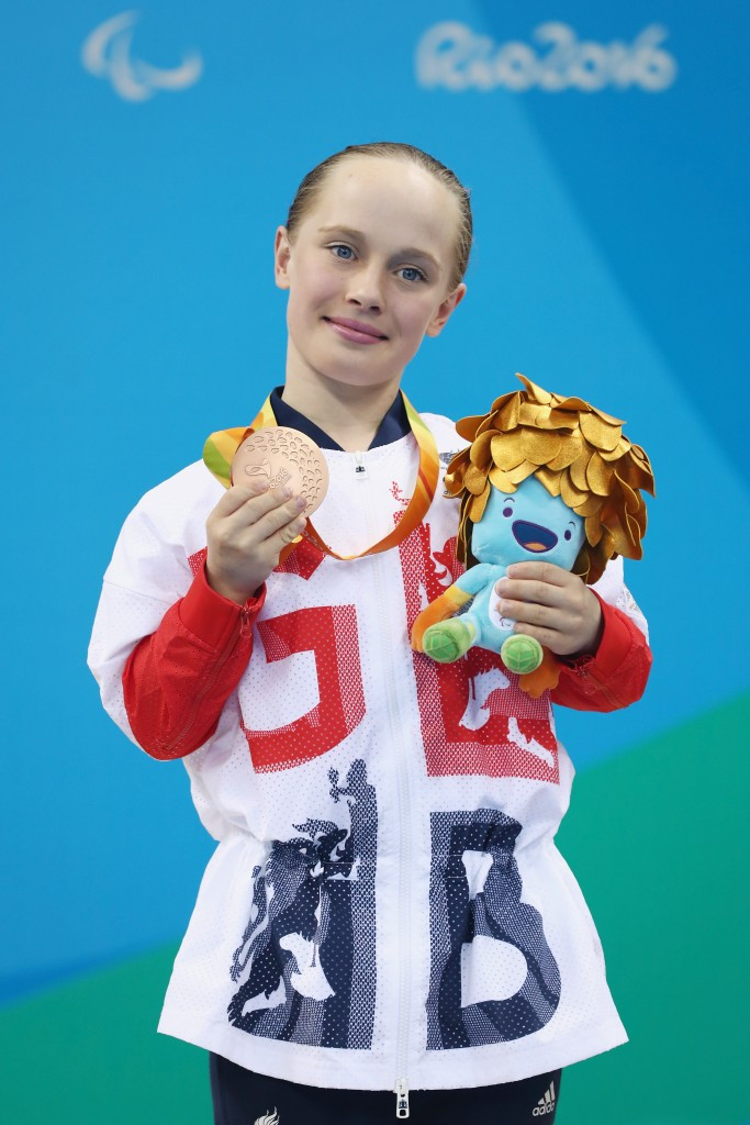 Ellie Robinson is another swimmer backed by the podium scheme ©Getty Images