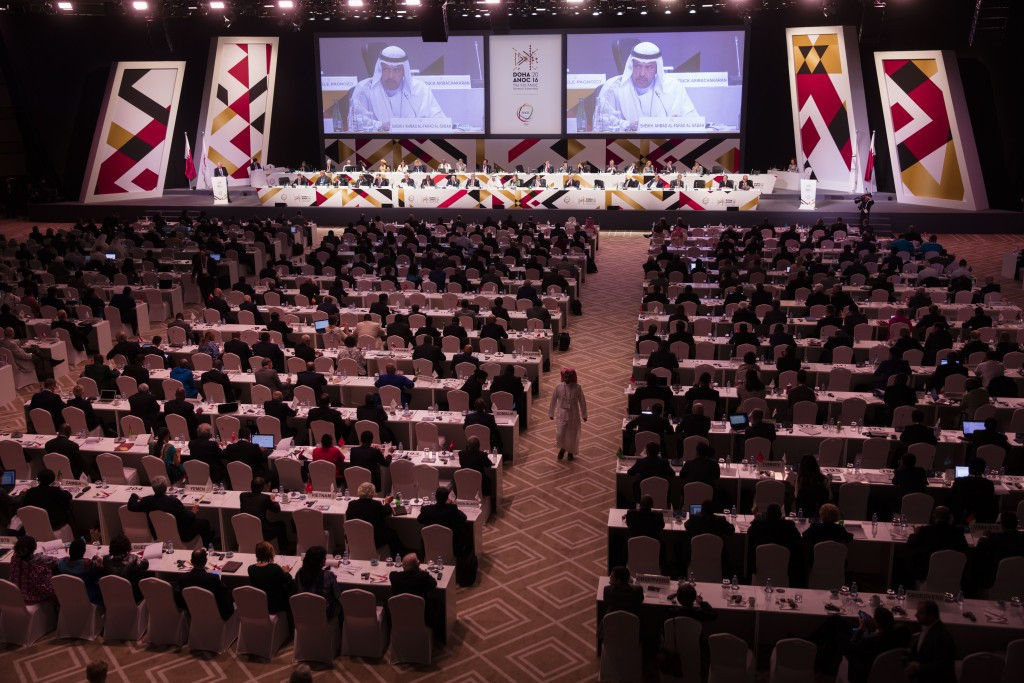 The WADA declaration was published during today's ANOC General Assembly ©Getty Images