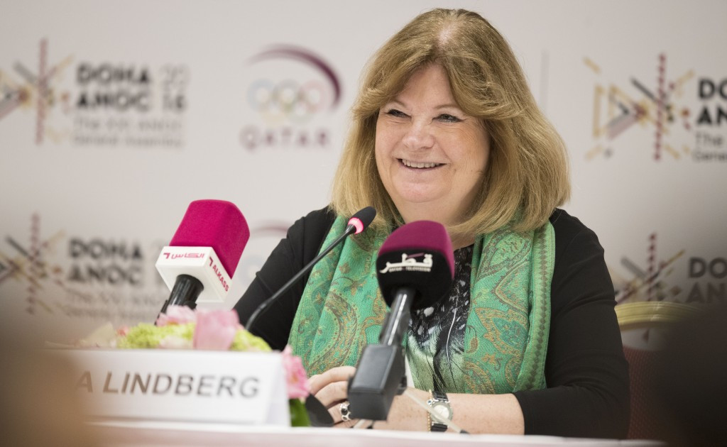 ANOC secretary general Gunilla Lindberg praised a proposal for an independent President of the World Anti-Doping Agency, although it is unclear when they would take up the position ©Getty Images