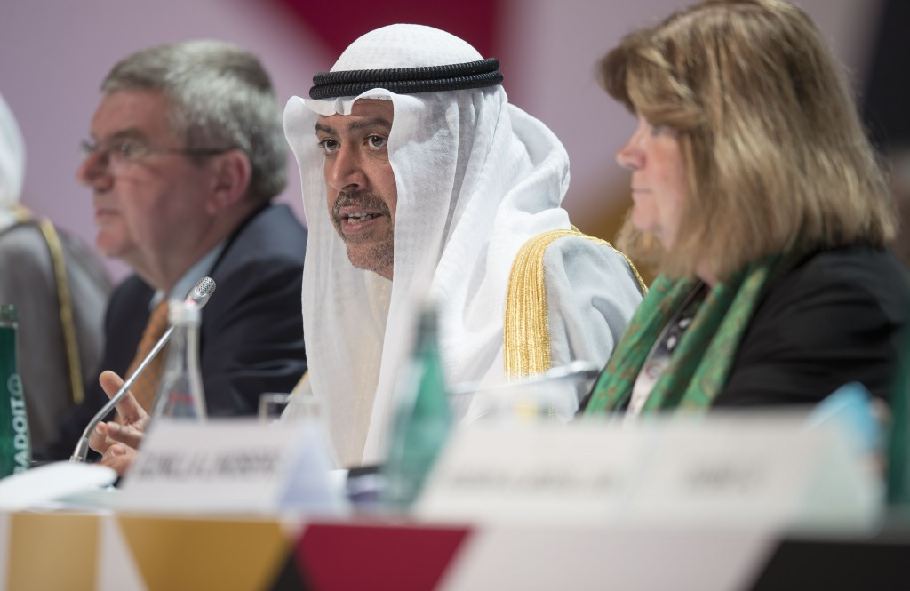 ANOC President Sheikh Ahmad Al-Fahad Al-Sabah was among those to criticise WADA and its President Sir Craig Reedie ©Getty Images