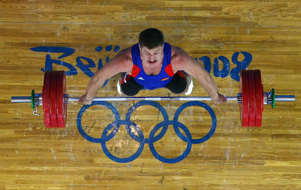 Khadzhimurat Akkaev is one of seven athletes who will lose their bronze medals ©Getty Images