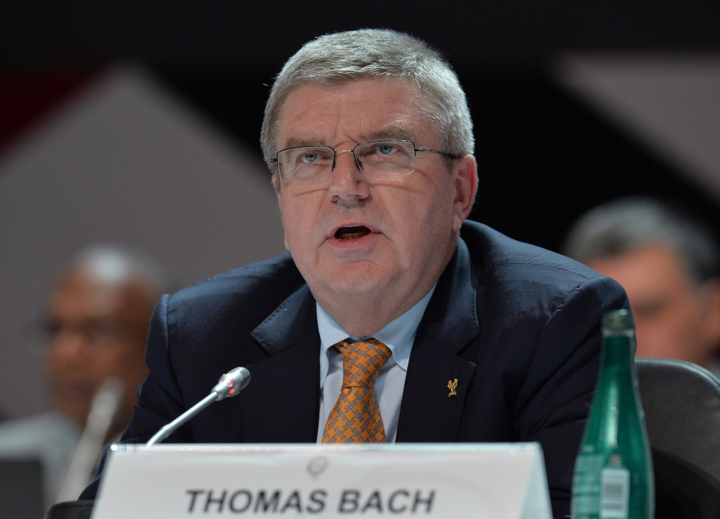 """IOC President Thomas Bach has said on several occasions that he does not support """"the prosecutor also being the judge"""" and is against plans for WADA to have sanctioning powers ©Getty Images"""