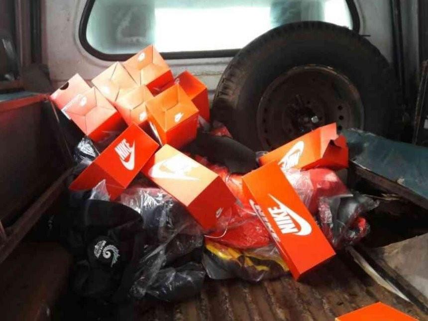Kit seized from an apartment belonging to Ben Ekumbo ©Kenya Police Service