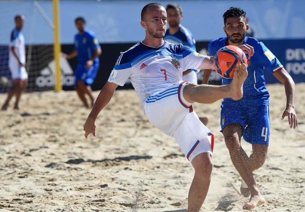 Russia is hoping to bid for the 2021 Beach Soccer World Cup ©Getty Images