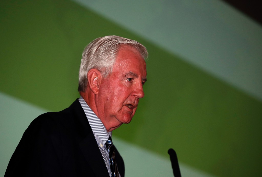 Sir Craig Reedie is the newly reelected President of WADA  ©Getty Images