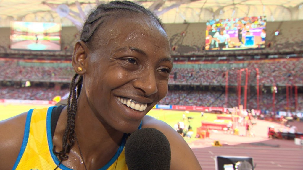 Abeba Aregawi is to be monitored by Swedish Athletics Association doctor Sverker Nilsson to ensure she avoids any problems in the future after escaping ban this year after a positive test for meldonium ©YouTube