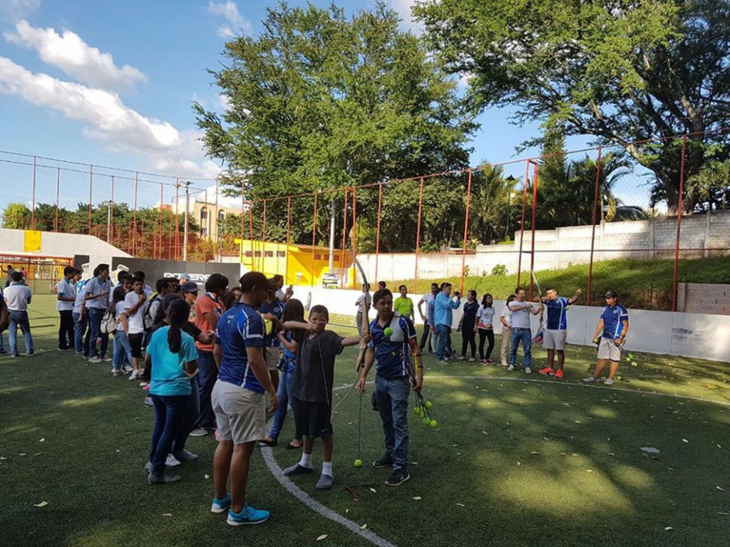 """National Olympic Committee of El Salvador play part in """"Generation Now"""" festival"""