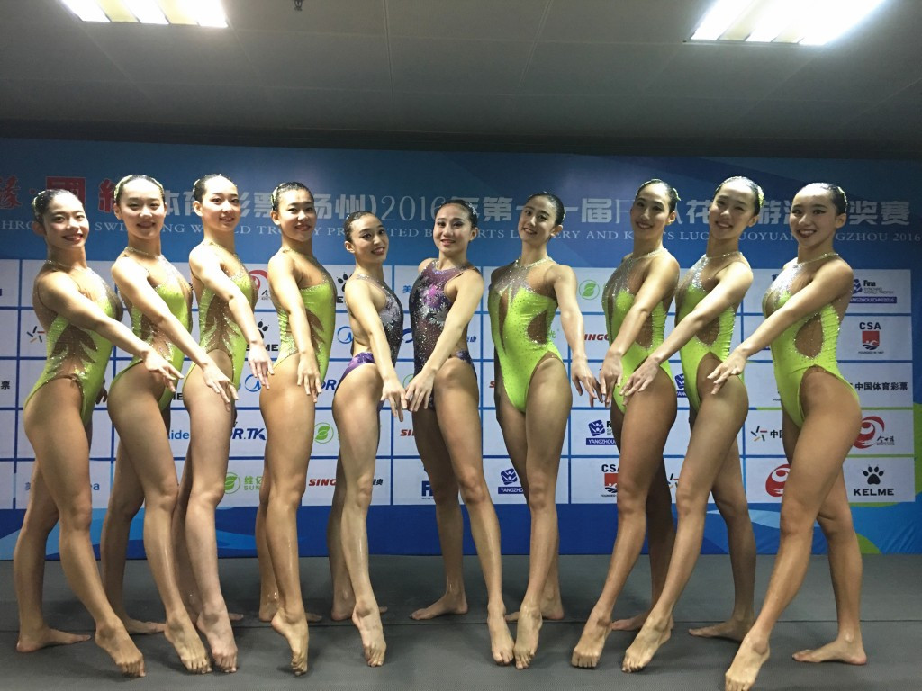 China claim fifth straight FINA Synchro World Trophy title