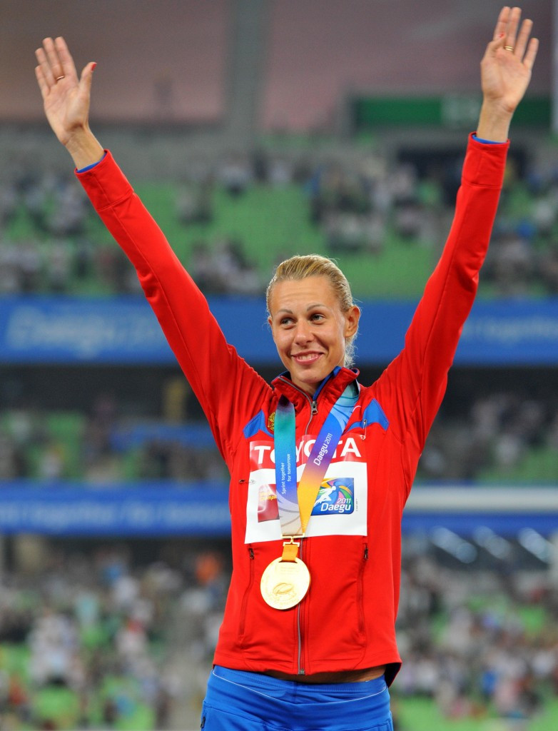 Tatyana Chernova will be stripped of her 2011 world title and the Olympic bronze medal she won at London 2012 ©Getty Images