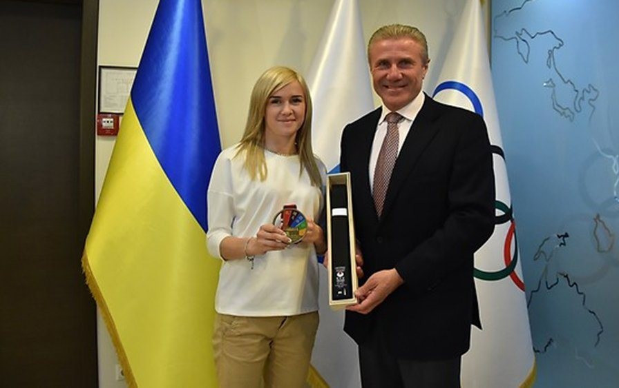 Ukraine's success at 2016 Karate World Championships recognised by National Olympic Committee