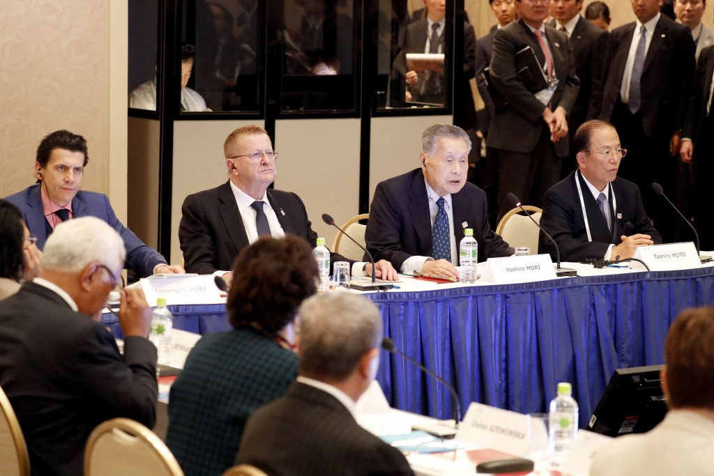 Budgetary and venue-related matters are expected to lead the agenda over the next two days ©Tokyo 2020/Shugo Takemi