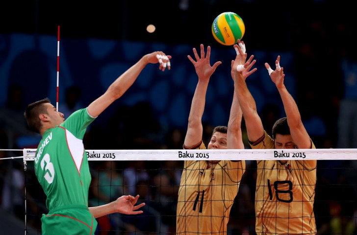 Germany maintain composure to beat Bulgaria and claim Baku 2015 volleyball crown