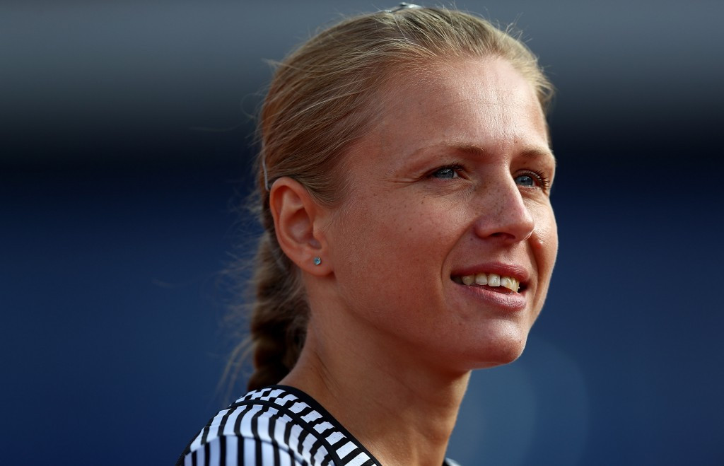 Russian whistleblower Yuliya Stepanova has been named as the recipient of an anti-doping award given out Doping-Opfer-Hilfe e.V. ©Getty Images