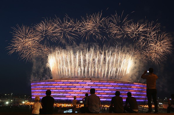Azeri traditions blend with British music as Baku 2015 declared closed