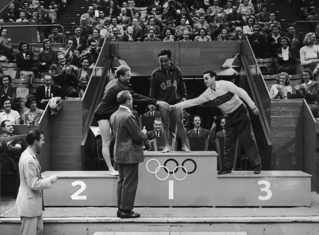 Sammy Lee won the gold medal in the 10m platform final at London 1948 ©Getty Images