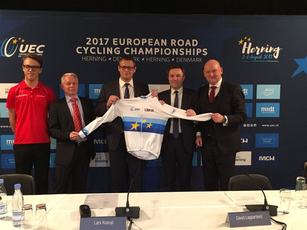 Herning to host European Road Cycling Championships in 2017