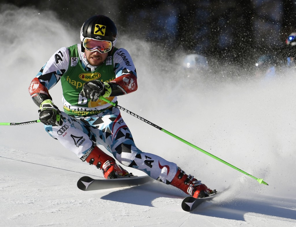 Austria's Marcel Hirscher currently leads the way in the men's FIS Alpine Skiing World Cup overall standings ©Getty Images