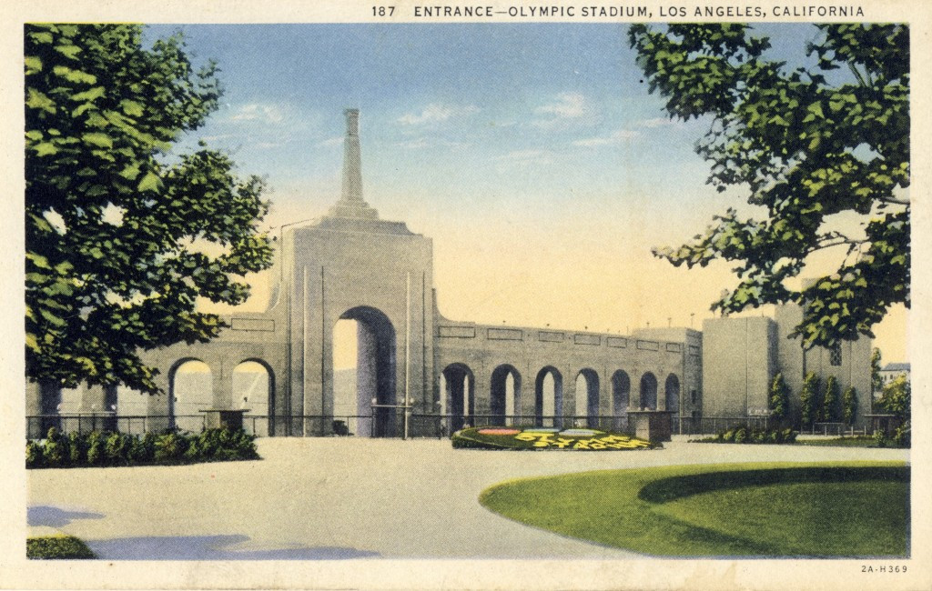 The Los Angeles Memorial Coliseum in the early 1930s ©Philip Barker