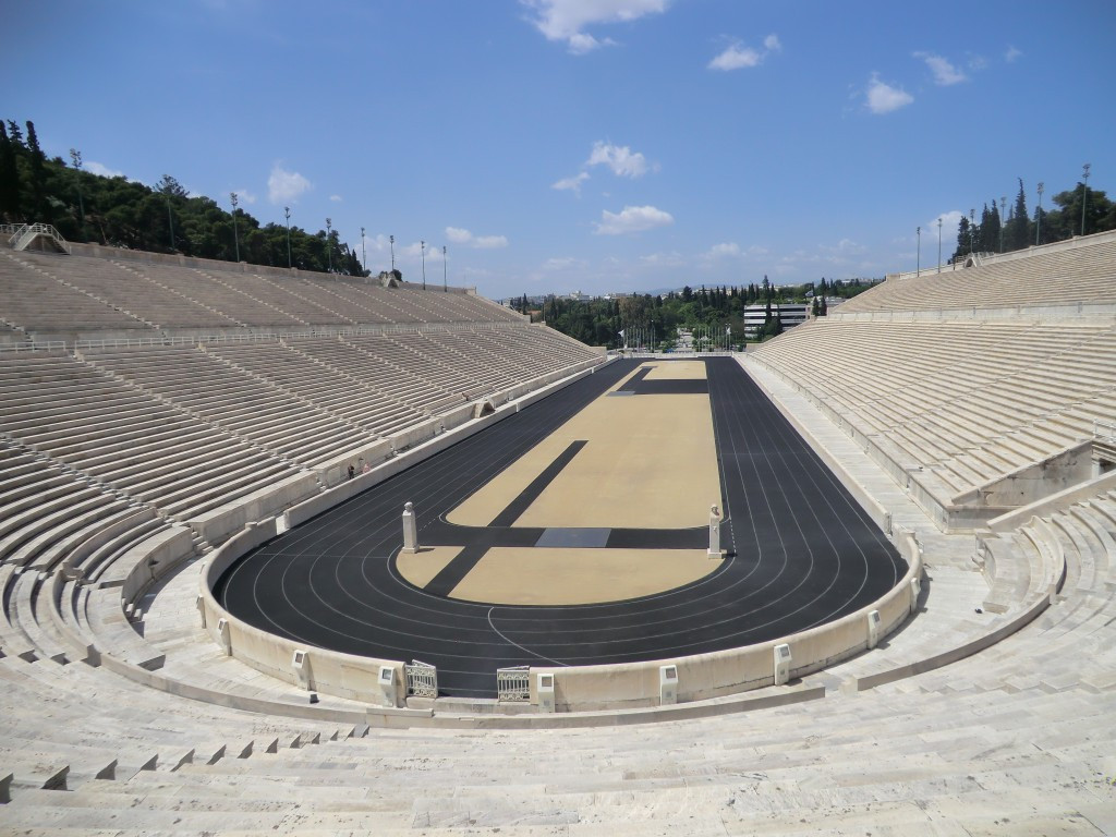 The historic stadium in Athens remains in use  ©Getty Images