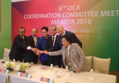 Organisers have been praised for their progress in preparing for the 2018 Asian Games ©OCA