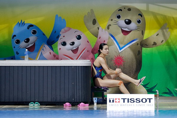 Wu Minxia has announced her retirement from diving ©Getty Images