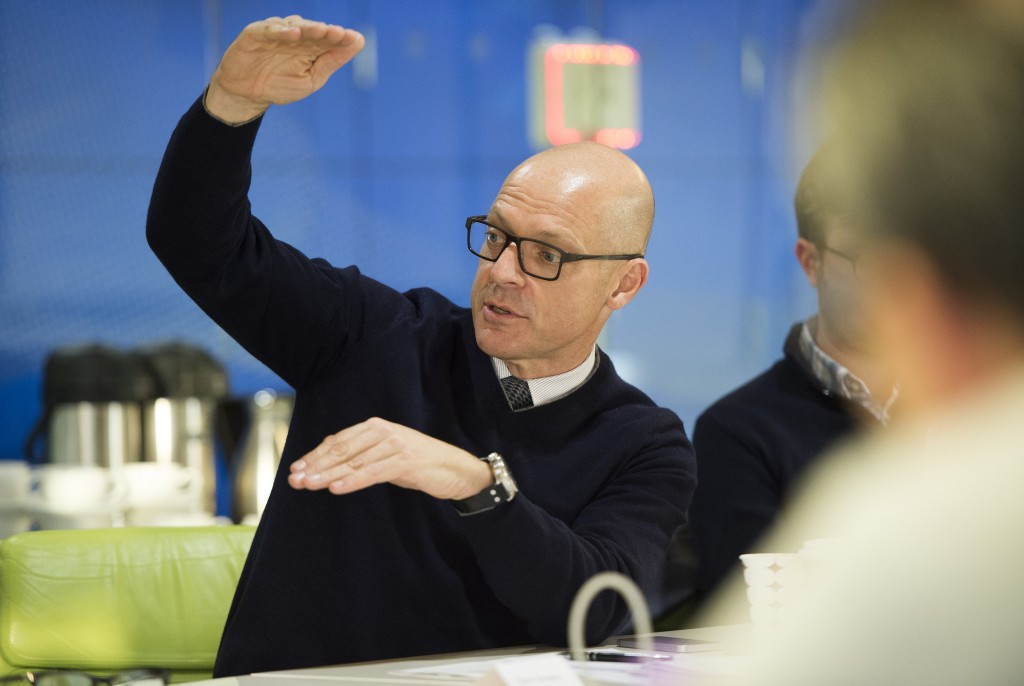 David Brailsford attempted to absolve Team Sky of any wrongdoing during today's Select Committee hearing ©Getty Images